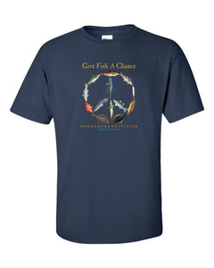 GIVE FISH A CHANCE • NORTH ATLANTIC Short Sleeve T-SHIRT