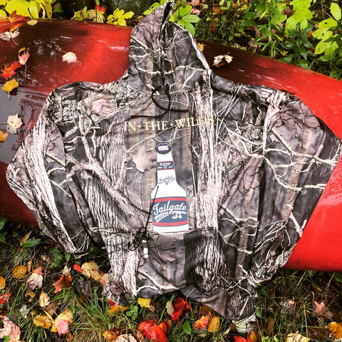 IN THE WILDS® • EMBROIDERED TAILGATE HOODIE • OUTDOOR CAMO