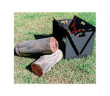 Outdoor Portable Fire Pit Camping Fire Pit Easy To Setup/Ship From Melbourne, Los Angeles