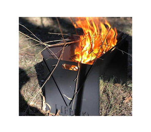 Portable Fire Pit Collapsible Steel Fire Pit Easy To Setup/Ship From Melbourne, Los Angeles