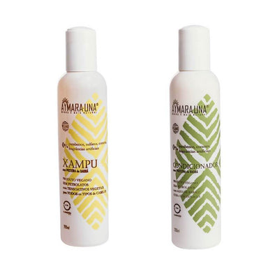 Kit Shampoo & Condicionador Natural Aymara Una