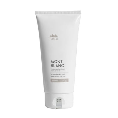 Creme Natural para as Mãos Mont Blanc da Terral Natural