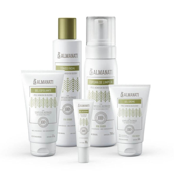 Kit Tratamento Facial Natural Antiacne Almanati