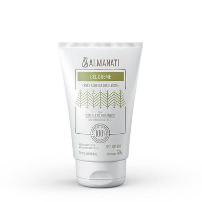 Gel Creme Facial Natural Antiacne Almanati