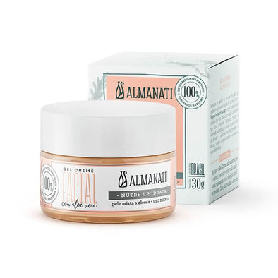 Gel Creme Facial Natural Aloe Vera Almanati