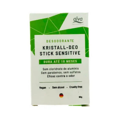 Alva Refil do Desodorante Stone Kristall Sensitive 90g
