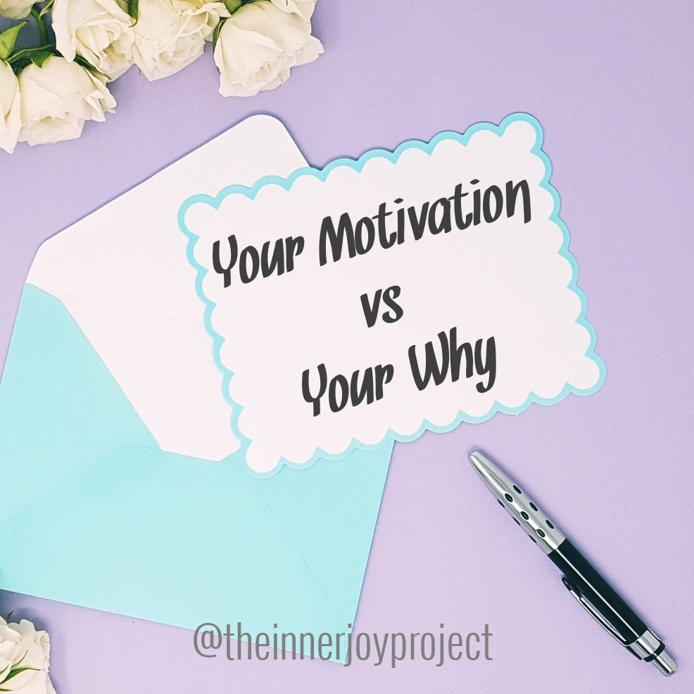 Your Motivation vs. Your Why
