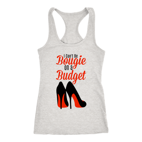 Bougie On A Budget Racerback Tank Tops