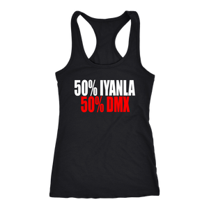 Fifty Percent Iyanla Fifty Percent DMX Racerback Tank Tops