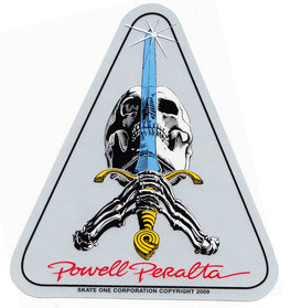 Powell Peralta Skull & Sword Decal