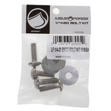 Liquid Force Wakeboard Binding 1/4-20 Bolt Kit Hardware Screws