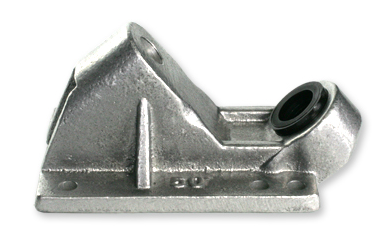Randal R-II 50 Degree Raw Silver Base Plate