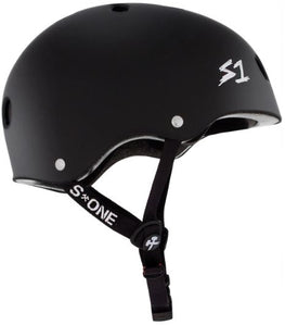 S One Lifer Matte Black Skateboard Helmet