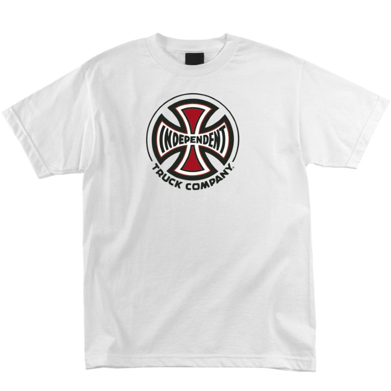 Independent Truck Co White Short Sleeve T Shirt