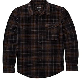 Billabong Furnace Mens Black Flannel