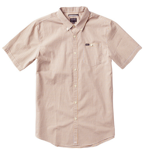 RVCA United Mens Cathaway Spice S/S Shirt