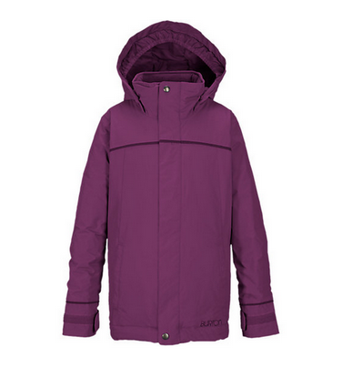 Burton Elodie Youth Girls Grapeseed Insulated Snowboard Jacket