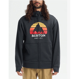 burton full zip fleece