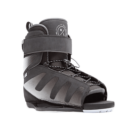 hyperlite mens black and white wakeboard bindings