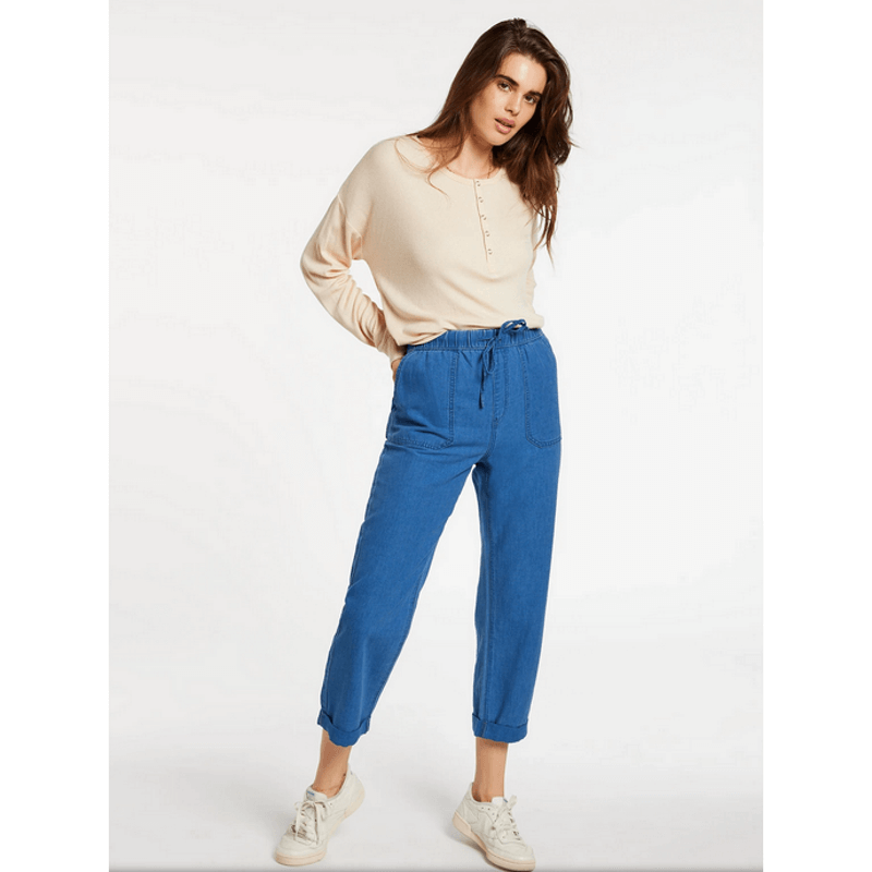 voclom womens blue pants