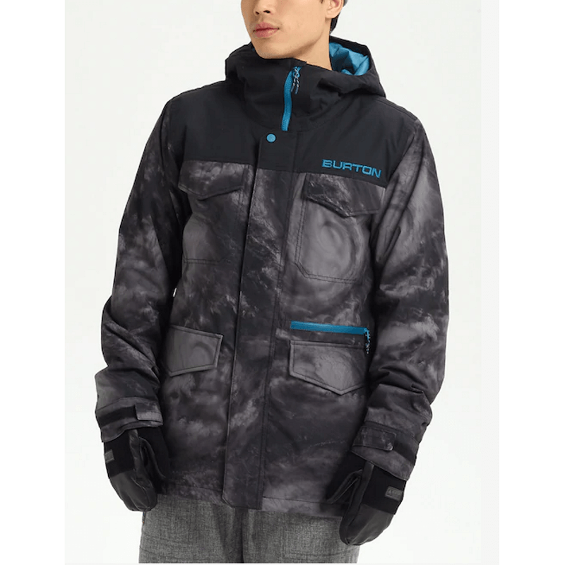 burton insulated snow jacket