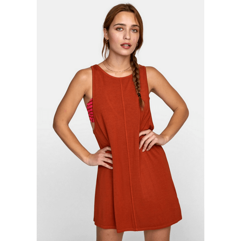 rvca womens rum mini dress