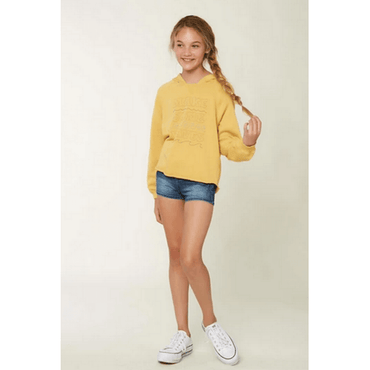 o'neill yellow fleece with embrodery