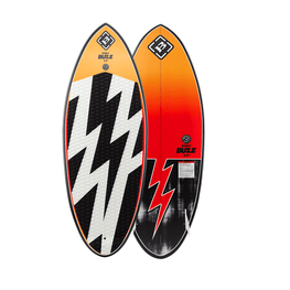 byerly buzz wakesurf gold with lightning bolts