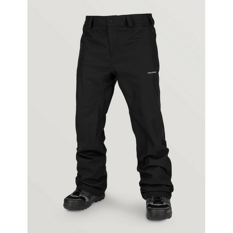 volcom mens black snow pants