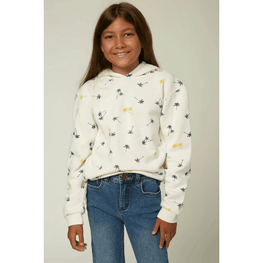 o,neill girls white pullover sweater