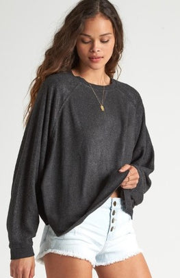 Billabong Carried Away Womens Grey Sweater