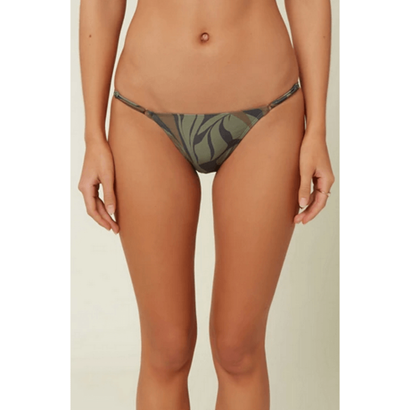 oneill skimpy camo swim bottom