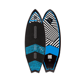 hyperlite black and blue wakesurfer
