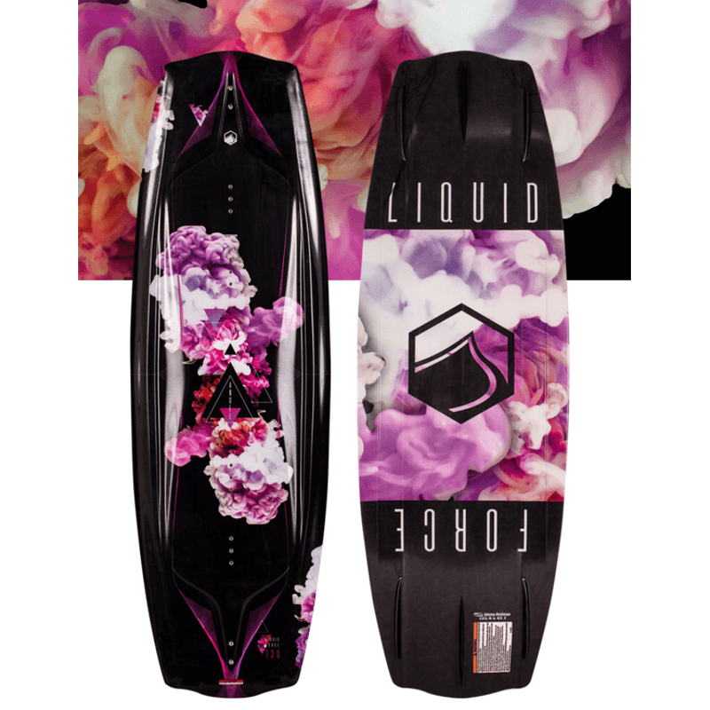 liquid force womens black and purple wakeboard