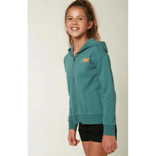 O'Neill Lou Girls Washed Spruce Zip Up Hoodie