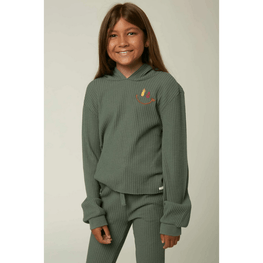 o'neill girls green thermal top lilley