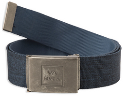 RVCA Falcon Web Mens Navy Heather Belt
