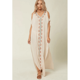 oneill tan maxy length swim cover up