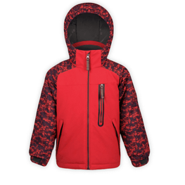 boulder gear red snow jacket