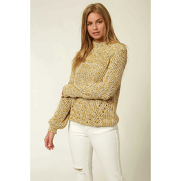 o'neill womens yellow sweater
