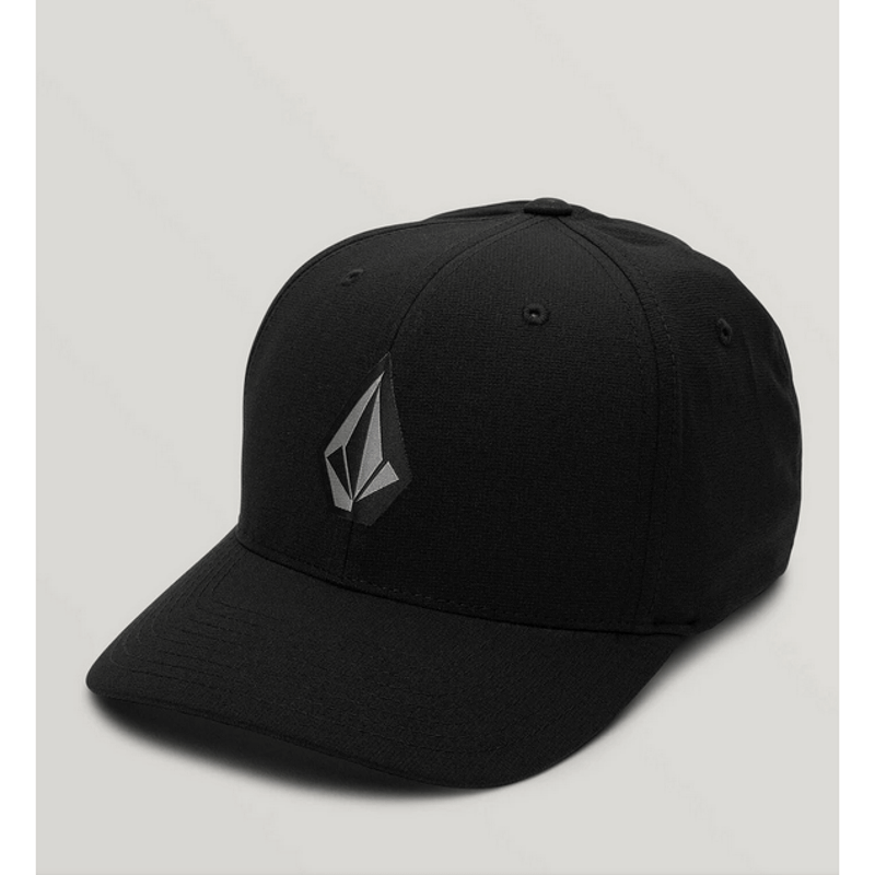 mens black tech volcom hat