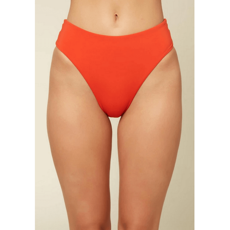 oneill orange womens swim bottom