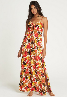 Billabong Sweet Kiss Womens Multi Maxi Dress