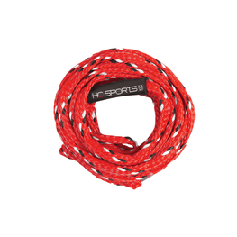 red multi rider tube rope