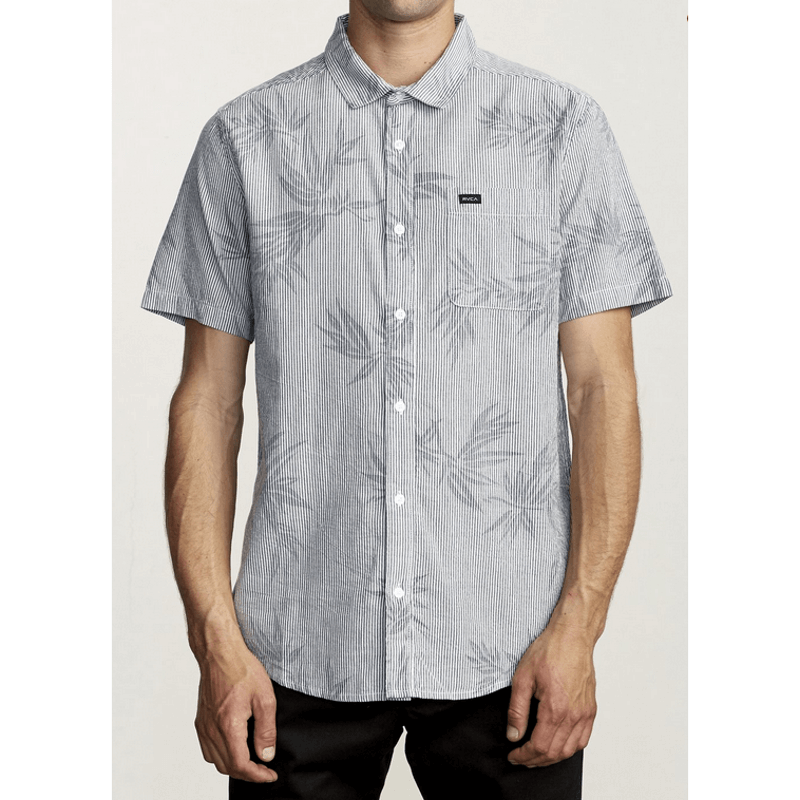 rvca button down shirt