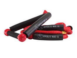 Hyperlite Surf Rope Red 25' With Handle