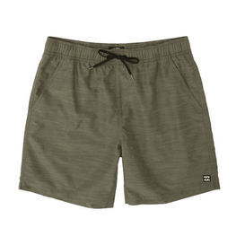 billabong boys gren slub boardshort