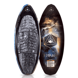 liquid force blue and orage galaxy graphic
