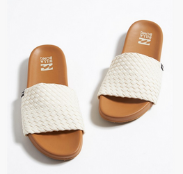 Billabong Surf Retreat Womens Natural Slide Sandals
