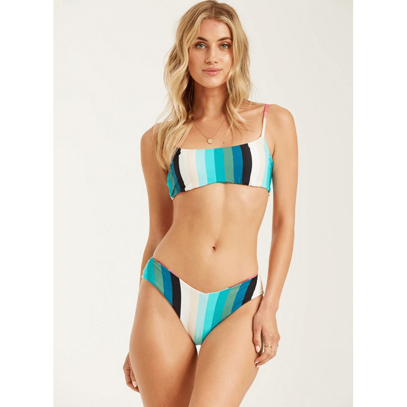 billabong reversibel mini crop swim top